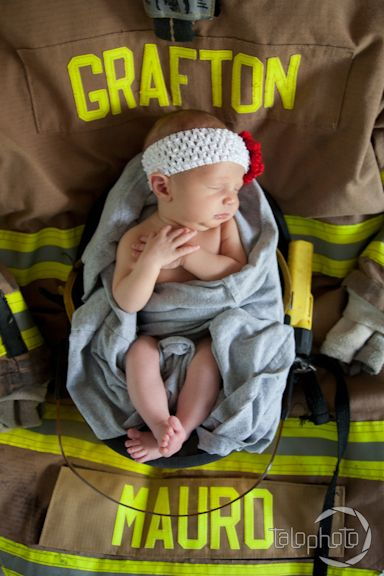 firefighter's baby daughter