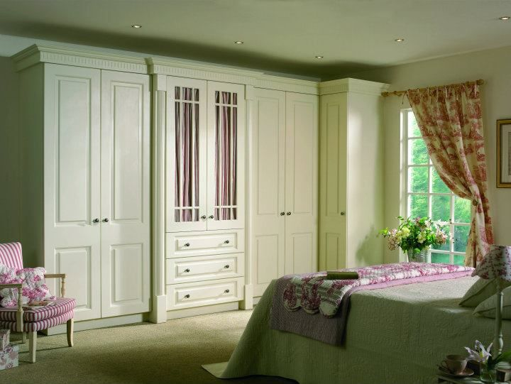 Ivory Pvc Wardrobes Design Living Bedroom Colours Painted