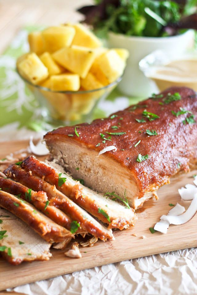 Pineapple Braised Pork Roast   by Sonia! The Healthy Foodie