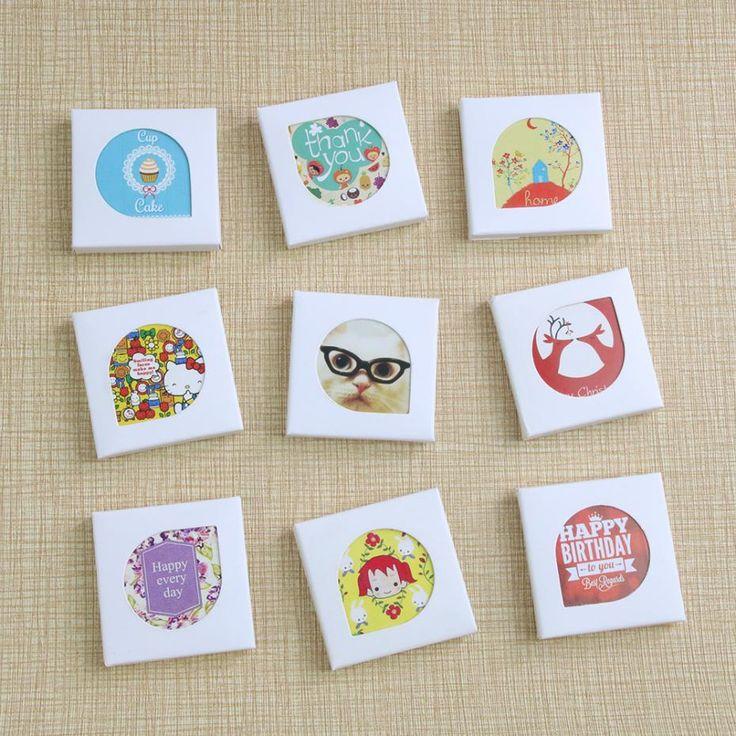 (38 pezzi)/Lot Del Fumetto di Kawaii Mini Adesivi di Carta Decorazione FAI DA TE Scrapbooking Adesivo Cancelleria