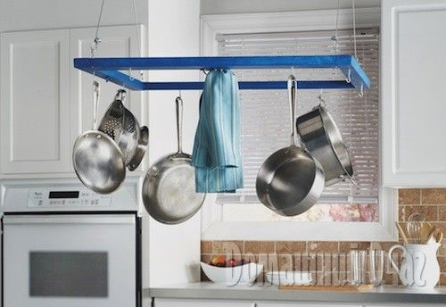 Подвесной держатель для посуды