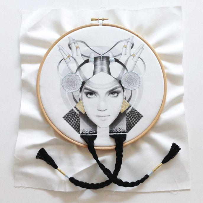 Vulcanian / embroidery
