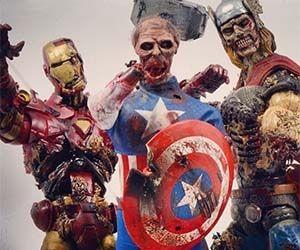 Zombie Marvel figurky 400 Kč