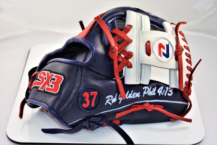 Custom softball and baseball gloves! Exclusively at sx3sports.com Phillippians 4:13, you can do ALL things!