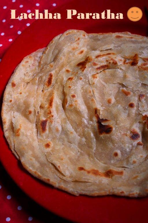 Lachha Paratha Recipe / Wheat Paratha Recipe