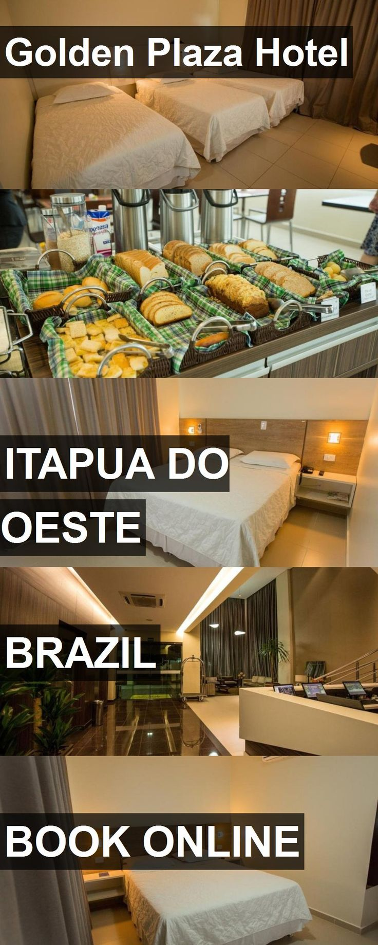 Golden Plaza Hotel in Itapua do Oeste, Brazil. For more information, photos, reviews and best prices please follow the link. #Brazil #ItapuadoOeste #travel #vacation #hotel