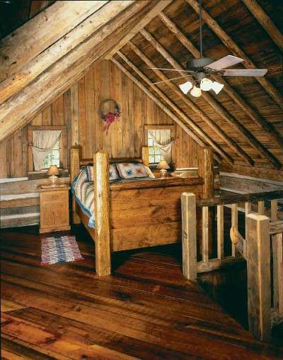 17 best images about log cabin life on pinterest fireplaces cabin and logs - The rustic attic ...