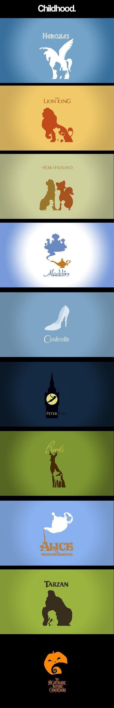 Modern Disney posters