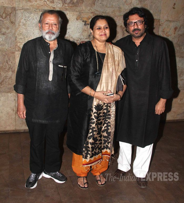 Sanjay Leela Bhansali at Ram Leela Screening