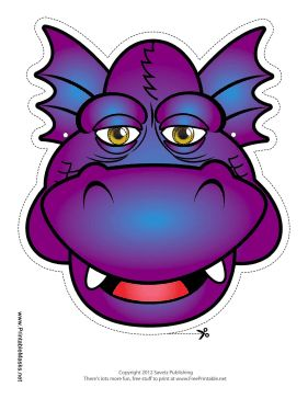 Then This Is The Mask For You Purple