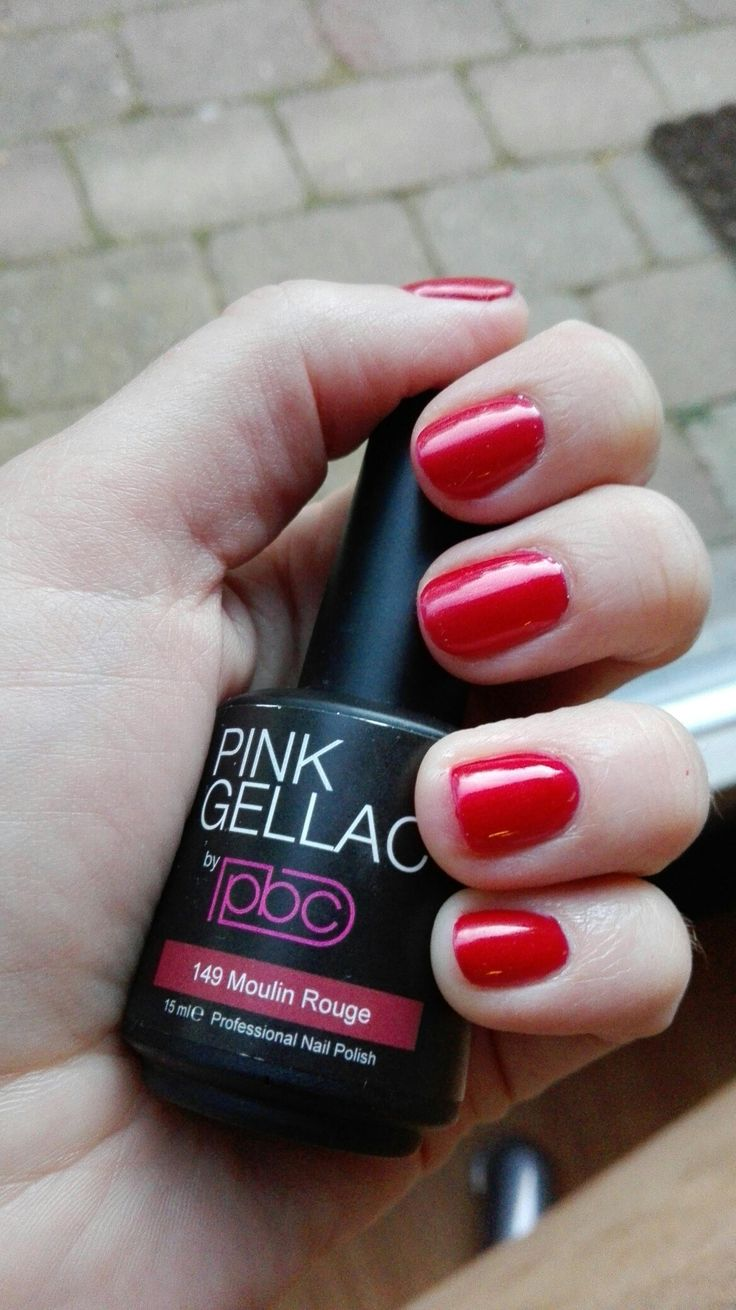 Pink gellac moulin rouge