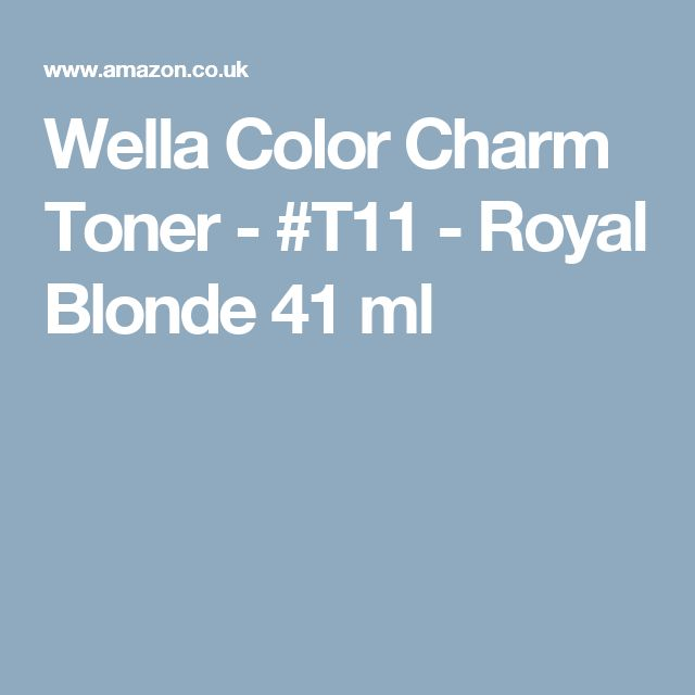how to use wella color charm toner