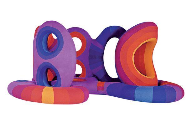 Мягкая конструкция, дизайнер Вернер Пантон, 1970–1971