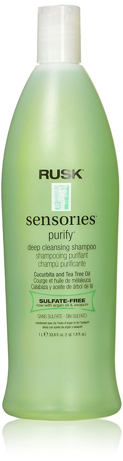 Rusk Sensories Purify Cucurbita and Tea Tree Oil Shampoo Unisex  33.8 Ounce >>> Check out the image by visiting the link.