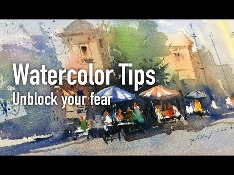 Best Watercolor Tips and working session for beginner's - YouTube