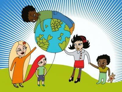 Rasisminvastainen päivä-matskua (maailmankoulu)
