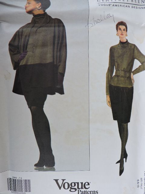 SeeSallySew.com - Geoffrey Beene American Designer Jacket