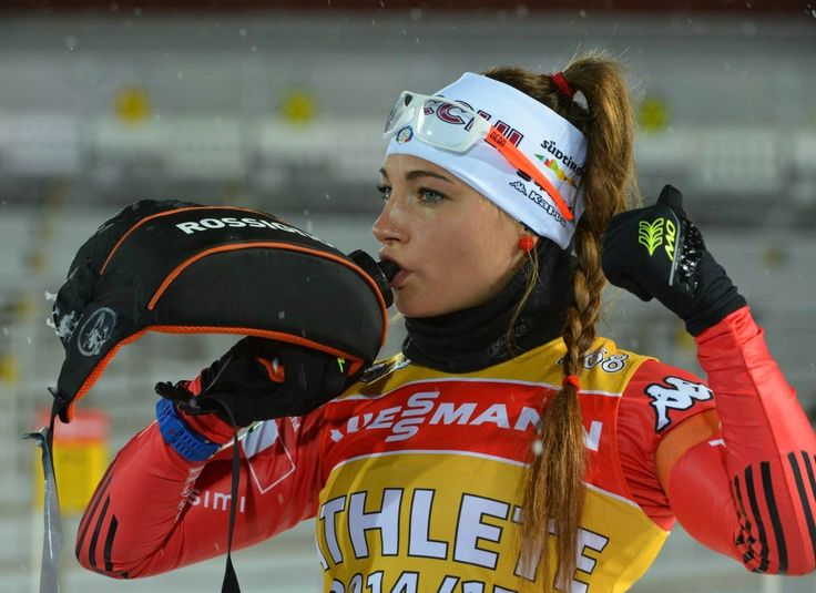 Dorothea Wierer — italienische Biathletin ☼