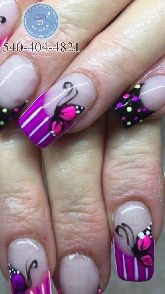 T J Nails Spa Nails Salon In Salem Va 24153 Best Nail Salon Nail Spa Nail Shapes