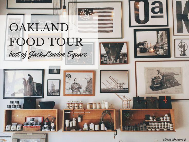 Food touring the best of Oakland restaurants with Savor Oakland - Strum Simmer Sip