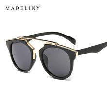 New fashion cat eye sunglasses mulheres marca designer vintage óculos de sol homens mulher uv400 óculos de sol oculos de sol feminino ma017 alishoppbrasil