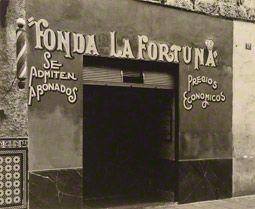 Small Restaurant, Havana, Walker Evans, 1933. The J. Paul Getty Museum. © Walker Evans Archive, The Metropolitan Museum of Art