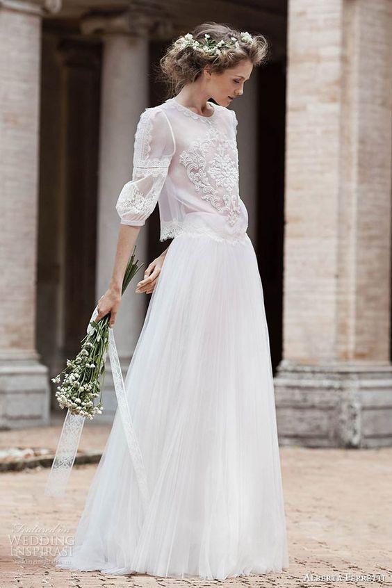 Fashion Trend   Quando o vestido da noiva não é um vestido de noiva   Revista iCasei
