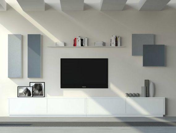 ideas para conseguir un saln minimalista salones modernos mueble bajo tv en