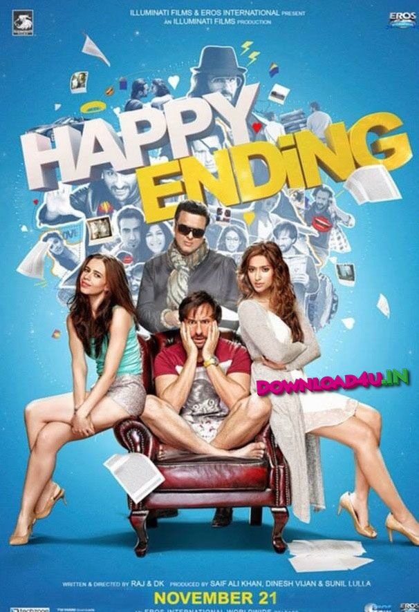 #Happy ending. #Poster movie. Bollywood.