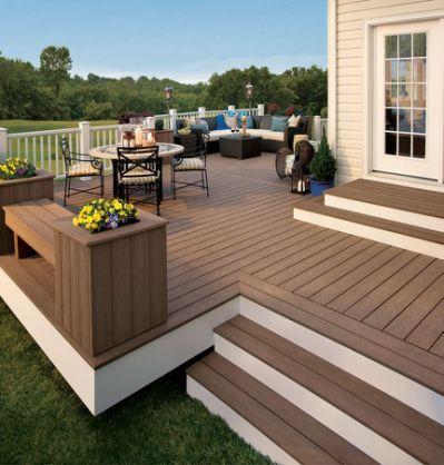15 best terrasse bois images on Pinterest Wooden decks, Backyard