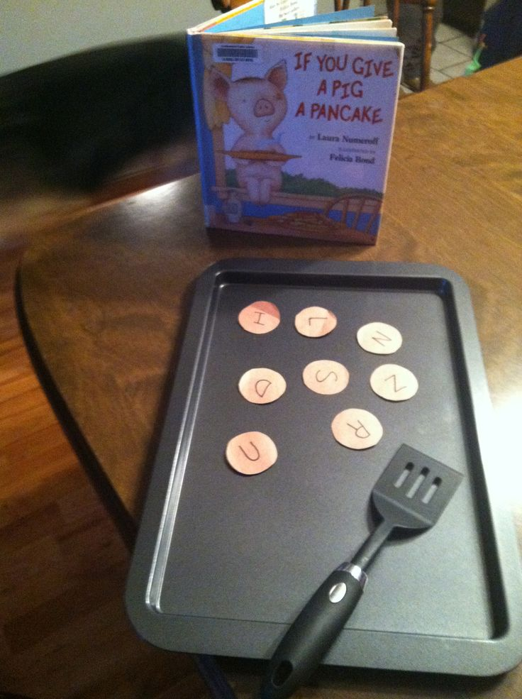 If You Give a Pig a Pancake by Laura Numeroff activity