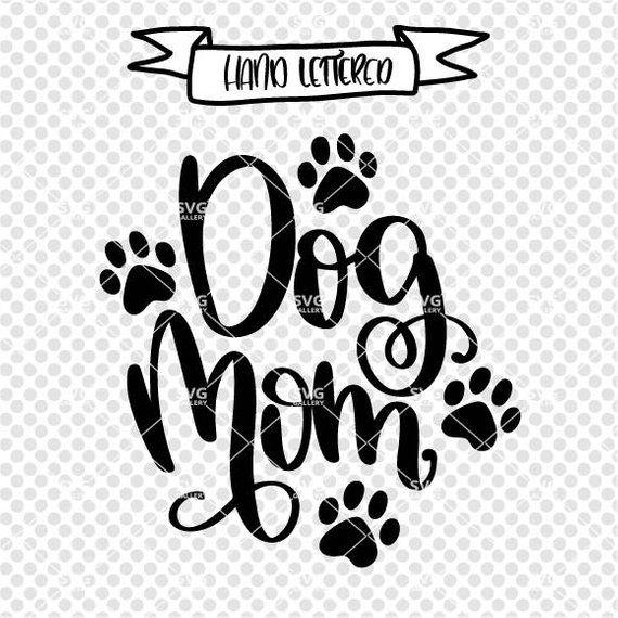 Download Dog mom SVG dog mama svg dog svg pawsitive svg SVG | Etsy ...