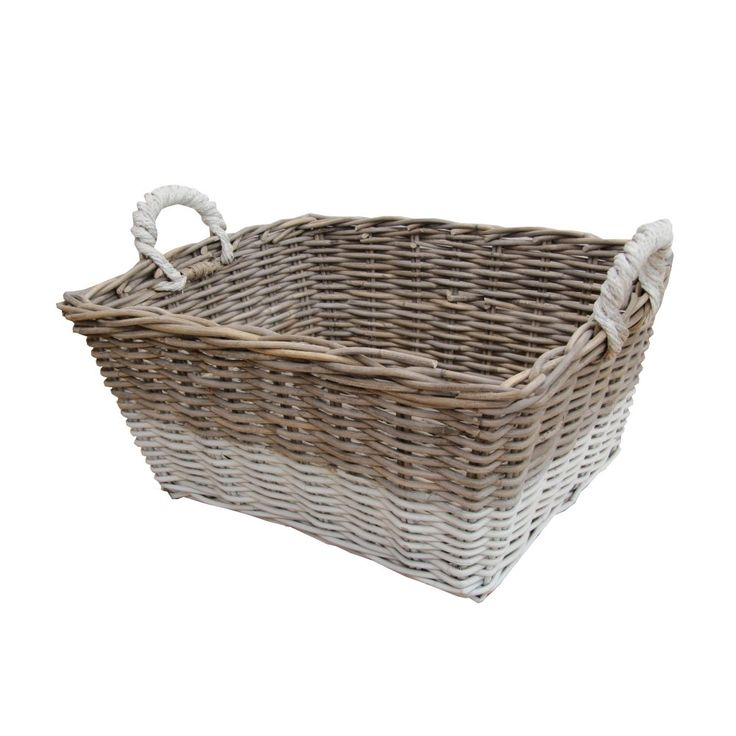 Buy Grasmere Grey Wash Wicker Storage Basket From The: 1000+ Images About Storage Baskets On Pinterest