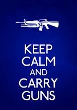 keep calm and carry on handguns #yankinaustralia