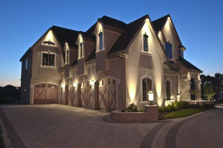 17 best images about house down lighting on pinterest Exterior accent lighting for home