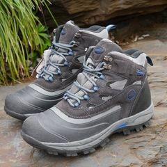 Высокое качество американских оригинальный сингл мужские кожаные высокой верхней ботинки супер теплые ботинки снега толщиной непромокаемые сапоги