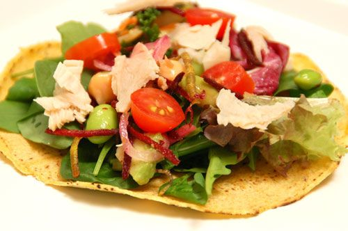 Cheap & Easy Healthy Meal: Salad Tacos