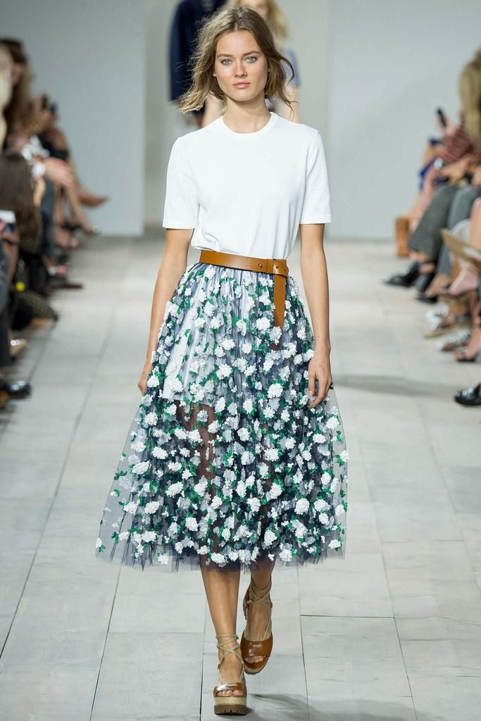Michael Kors Spring 2015 Ready-to-Wear - Front-row - Gallery - Look 1 - Style.com
