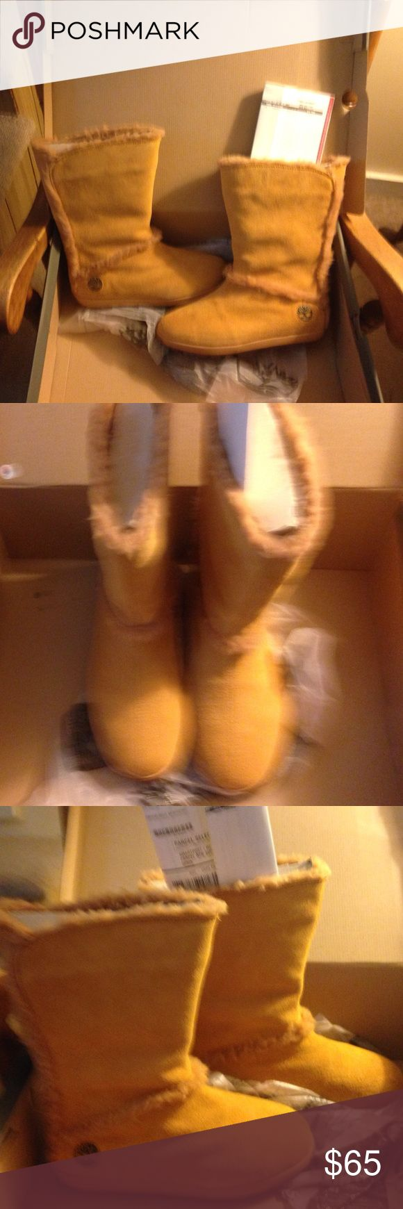 """Timberland 10"""" Mukluk Boots Never worn, comfy Timberland boots still in box with receipt no tags but  original box and dust cover. Timberland Shoes Winter & Rain Boots"""