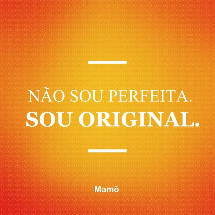 Originalidade é tudo!