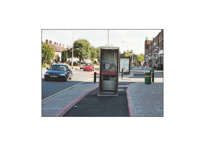 Or to make things even weirder, a phone box?