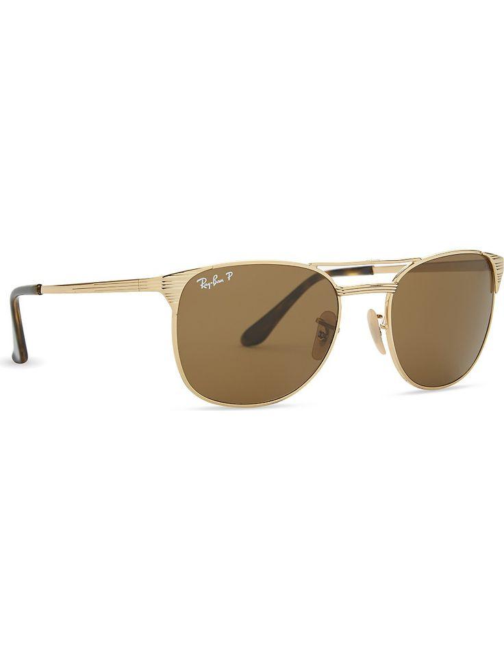 RAY-BAN - Rb3429 Signet square-frame sunglasses   Selfridges.com