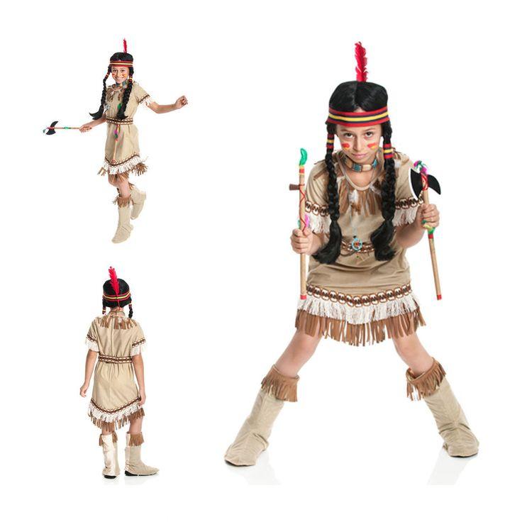 Indianer Kostüm Mädchen Kinder Indianerin Squaw Kostüm Kind 116 128140152 164 | Kleidung & Accessoires, Kostüme & Verkleidungen, Kostüme | eBay!