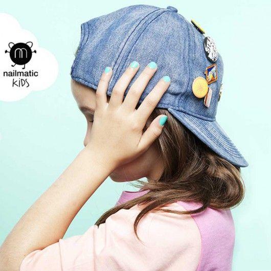 Vernis Nailmatic kids Mint #vernisaongles #vernisenfant