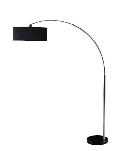 Choosing a Modern Arc Floor Lamp - when you can't install a pendant light. #arclamp #floorlamps
