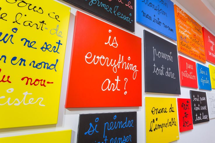 Tout ce qu'il faut savoir sur l'expo Ben au Musée Maillol  | Le Bonbon