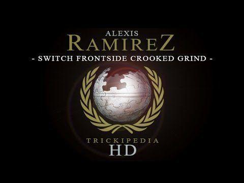 Alexis Ramirez: Trickipedia – Switch Frontside Crooked Grind: This week Alexis Ramirez… #Skatevideos #Alexis #crooked #frontside #grind