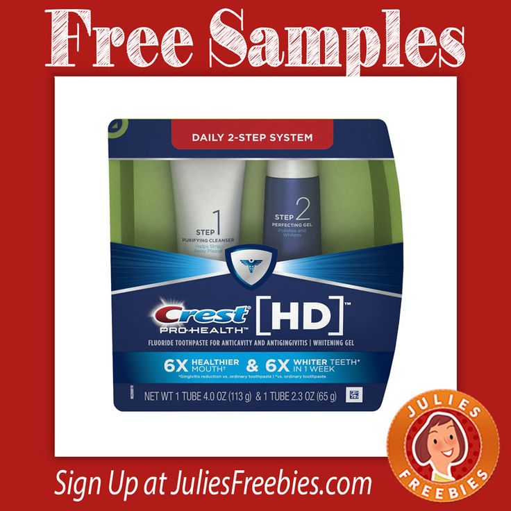 Crest Foods Company Mail: Free Crest Pro-Health HD