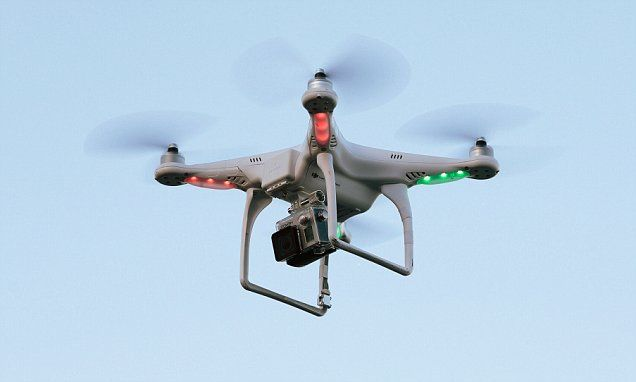 Police could use 'death rays' to shut down drones above airports