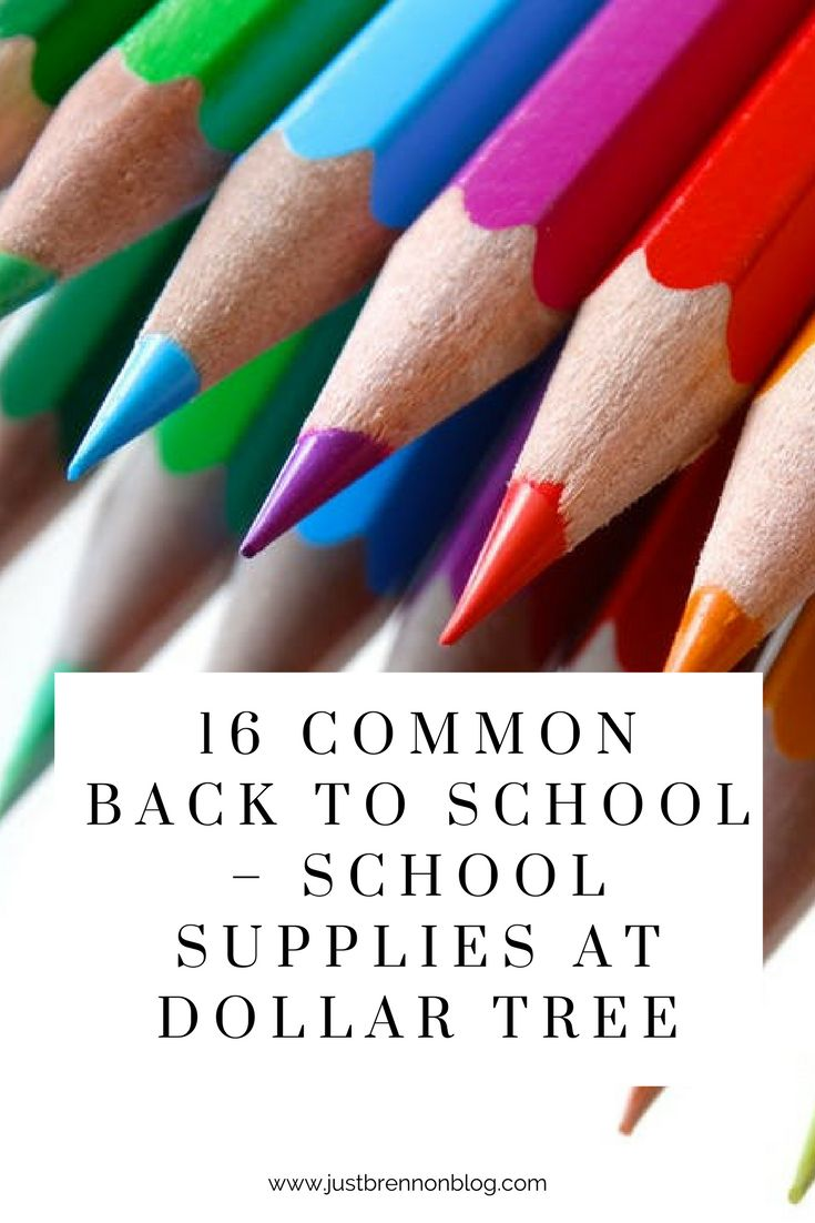 16 Common Back to School items to buy in bulk online at Dollar Tree for parents and teachers. (scheduled via http://www.tailwindapp.com?utm_source=pinterest&utm_medium=twpin&utm_content=post203184939&utm_campaign=scheduler_attribution)